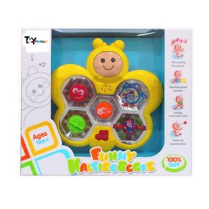 Toy House Kaleidoscope with Music and Light Rs 266 amazon dealnloot