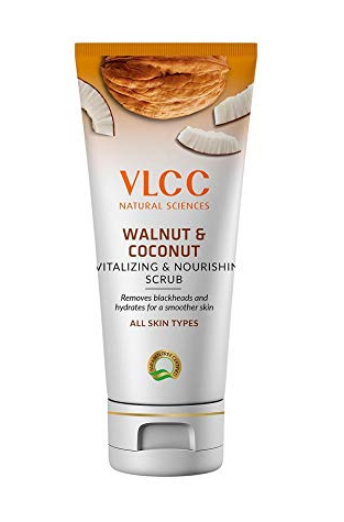 VLCC Walnut Coconut Revitalizing & Nourishing Scrub (90gm)