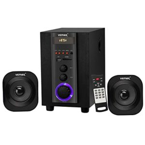 Vemax Edge 2 1 Bluetooth Home Theater Rs 1490 amazon dealnloot