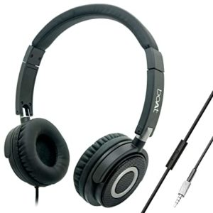 boAt Bassheads 900 On Ear Wired Headphones Rs 699 amazon dealnloot
