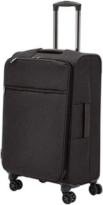 AmazonBasics Belltown Softside Rolling Spinner Suitcase Luggage Rs 2339 amazon dealnloot