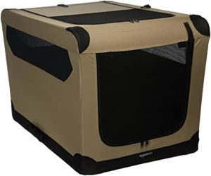 AmazonBasics Folding Soft Dog Crate for Crate Rs 1279 amazon dealnloot