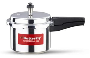 Butterfly Cordial Induction Base Aluminium Pressure Cooker Rs 529 amazon dealnloot