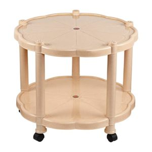 Cello Corolla Center Table with Storage Beige Rs 1453 amazon dealnloot