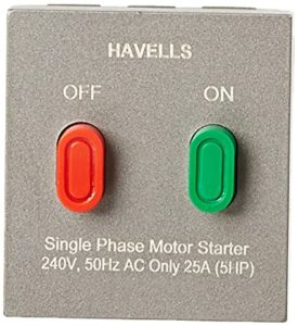 Havells ORO 25A Motor Starter Magnesium Grey Rs 1697 amazon dealnloot