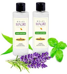 Khadi Mauri Herbal Hand Sanitizer 500 ml Rs 82 amazon dealnloot