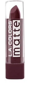 L A Color Matte Lipstick Berry Ice Rs 74 amazon dealnloot