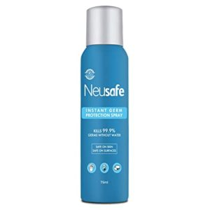 Neusafe 70 Alcohol Based No Gas Instant Rs 49 amazon dealnloot