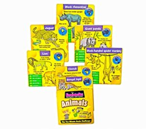 Popsugar Animal Flash Cards Memory Game Learn Rs 89 amazon dealnloot