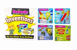 Popsugar Inventions and Inventors Flash Cards Memory Rs 129 amazon dealnloot