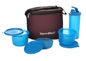 Signoraware Combo Medium Executive Lunch with Bag Rs 310 amazon dealnloot