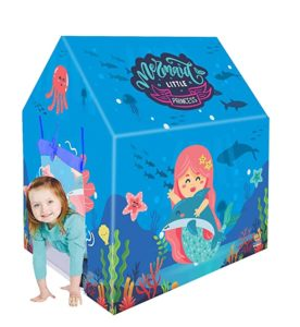 Webby Mermaid Play Tent for Kids Rs 404 amazon dealnloot
