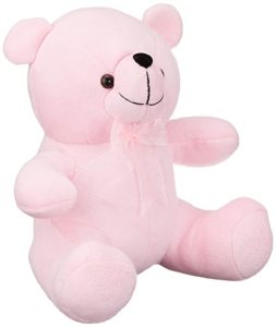 Webby Pink Soft Teddy Bear Plush Stuffed Rs 140 amazon dealnloot