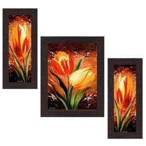 Wens Remember with Flowers MDF Wall Art Rs 159 amazon dealnloot