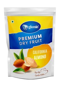 glomin Almond Raw 1kg Pack of 1 Rs 689 amazon dealnloot
