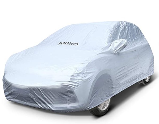 Amazon Brand - Solimo Chevrolet Beat UV Protection & Dustproof Car Cover