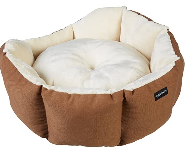 AmazonBasics Octagon Pet Bed - 20 Inch
