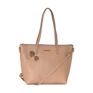 Caprese Mia Tote Large R Beige Rs 593 amazon dealnloot