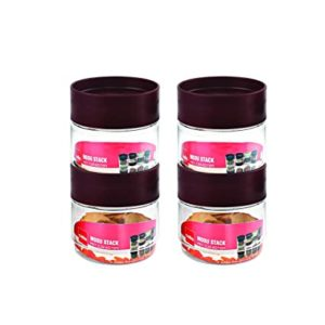 Cello Modustack Stackable Container Set of 4 Rs 197 amazon dealnloot