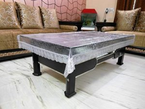 Khushi Creations Self Design 4 Seater Table Rs 151 amazon dealnloot