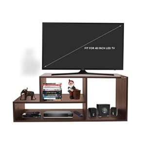 Klaxon Diamond Wooden TV Stand Matte Finish Rs 1689 amazon dealnloot