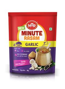 MTR Minute Garlic Rasam 60 g Rs 27 amazon dealnloot