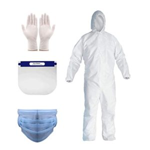 ORILEY MXVOLT_IT2 Disposable PPE Kit with Coverall Rs 63 amazon dealnloot