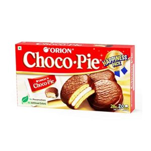 ORION Choco Pie Chocolate Coated Soft Biscuit Rs 299 amazon dealnloot