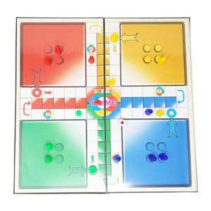 Parteet Ludo Snakes And Ladder Board Game Rs 101 amazon dealnloot
