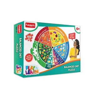 Playlearn Balanced Diet an Educational Puzzle Rs 122 amazon dealnloot
