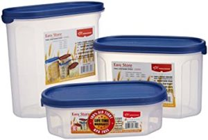 Princeware Plastic Easy Store Oval Package Container Rs 209 amazon dealnloot