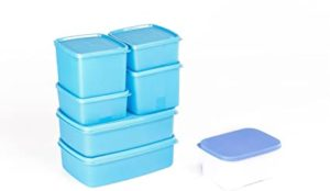 Signoraware Plastic Fridge Container Set 7 Pieces Rs 534 amazon dealnloot