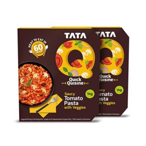 Tata Q Saucy Tomato Pasta with Veggies Rs 99 amazon dealnloot