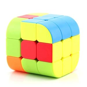 Toyshine Cylinder Shaped Speed Cube 3x3 Cube Rs 166 amazon dealnloot