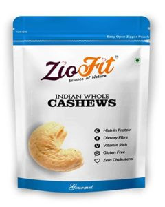 Ziofit Indian Whole Cashewnuts 200g Buy 1 Rs 290 amazon dealnloot