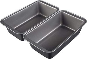 AmazonBasics Nonstick Carbon Steel Baking Bread Pan Rs 327 amazon dealnloot