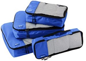 AmazonBasics Packing Cubes Travel Pouch Travel Organizer Rs 659 amazon dealnloot