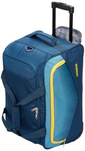 American Tourister Ohio Polyester 55 cms Blue Rs 1499 amazon dealnloot