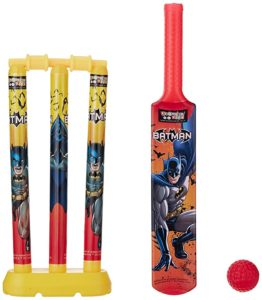 Batman Mini Cricket Set with 1 Plastic Rs 121 amazon dealnloot
