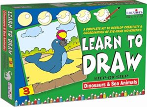 Creative Educational Aids 1040 Learn to Draw Rs 87 amazon dealnloot