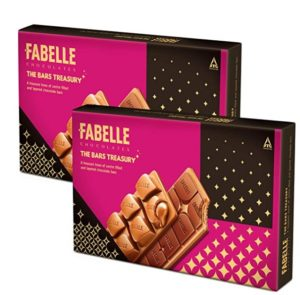 Fabelle - The Bars Treasury, Pack of 2x235g, Assorted Chocolate Gift Pack