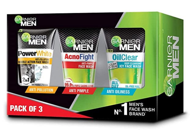 Garnier Men Face Wash Combo Pack