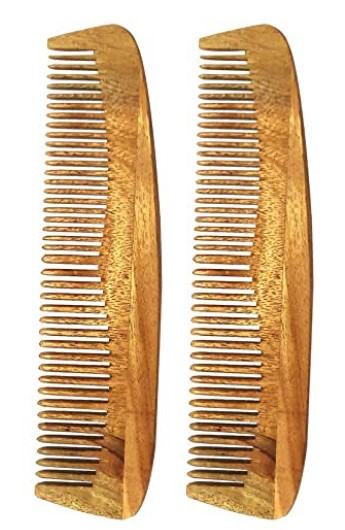 Herb Essential Anti-Hairfall Neem Wood Comb