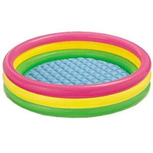 Intex 57422 Sunset Glow Baby Pool Multicolor Rs 489 amazon dealnloot