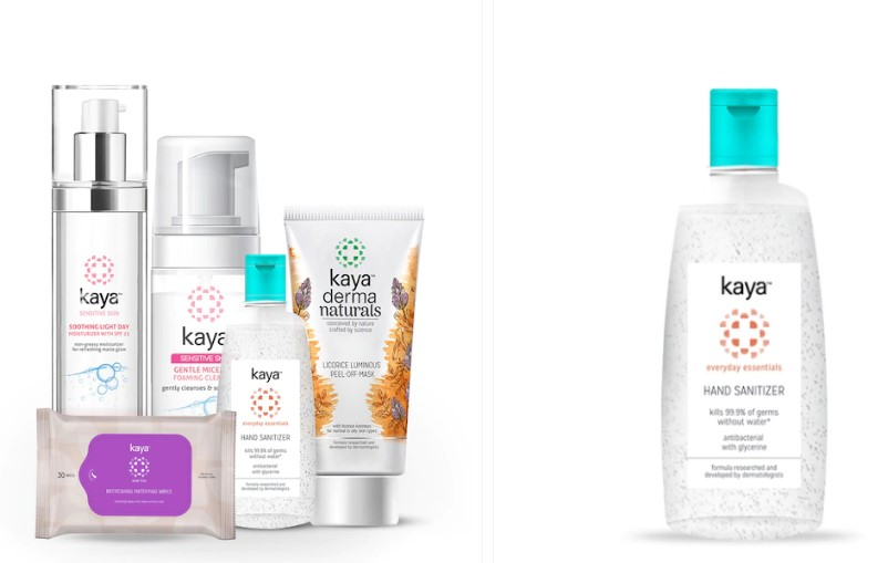 Kaya Skin Clinic Travel Safe Festive Kit