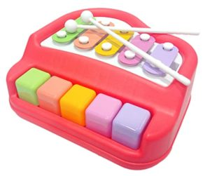 Popsugar 2 in 1 Xylophone and Piano Rs 227 amazon dealnloot