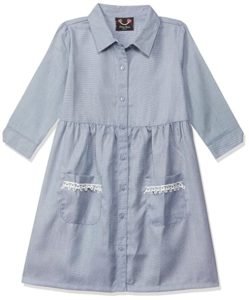 Smiling Bows Synthetic Dress Rs 166 amazon dealnloot