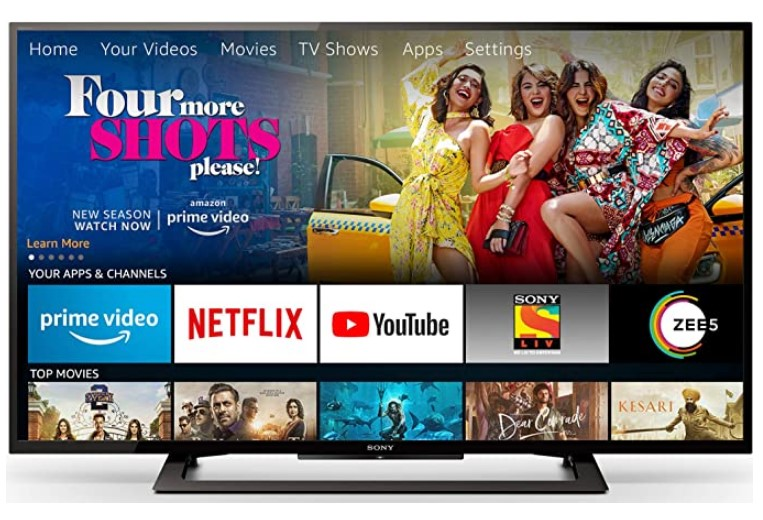 Sony Bravia 101.6cm (40 Inches) Full HD LED TV With Fire TV Stick (KLV-40R252G) (Black)