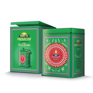 TATA Tea Premium Warli 250gm Festive Tin Rs 139 amazon dealnloot