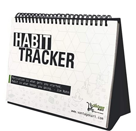 Vantagekart Habit Tracker Daily, Weekly and Monthly Planner